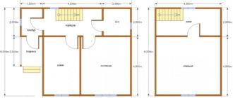 Проект дома 6на6