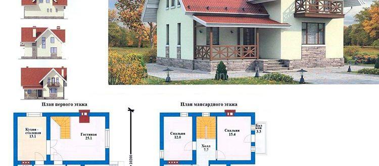 Проект круглогодичного дома
