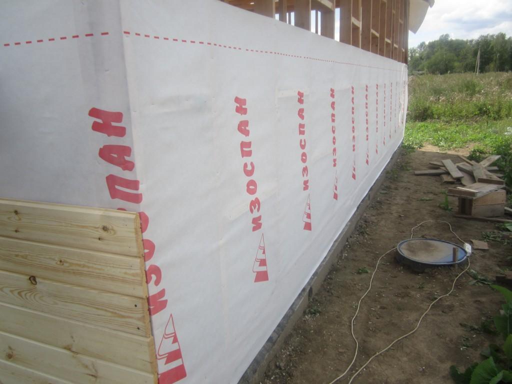 Все про ветрозащиту для стен каркасного дома