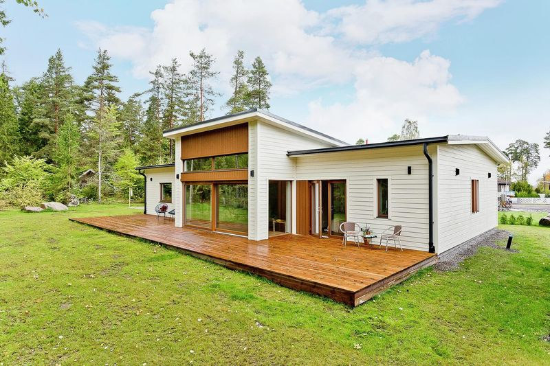 Внешний вид финского дома