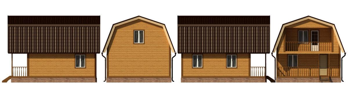 Подробный проект дома