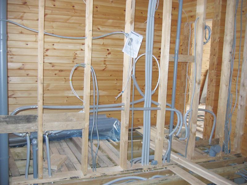 Электропроводка в домах