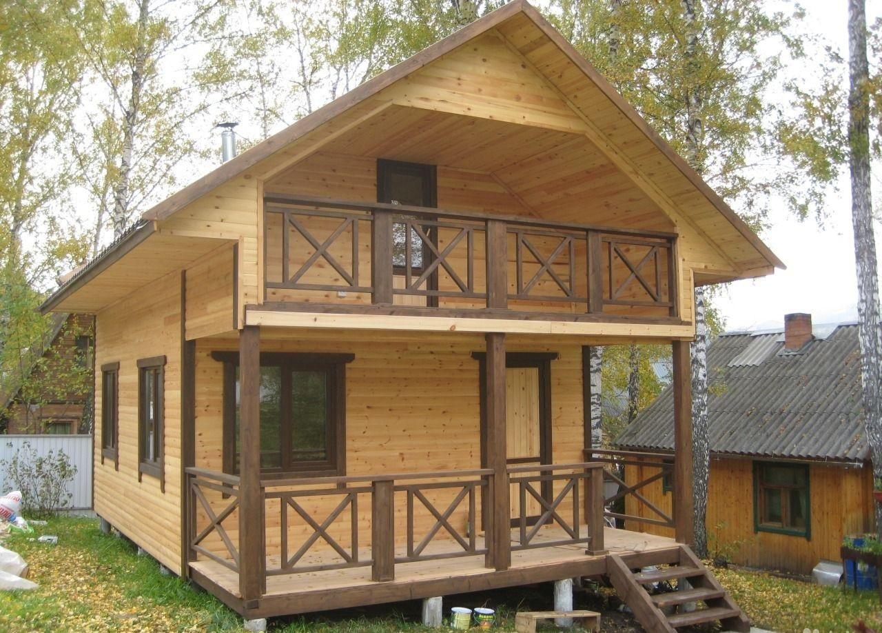 Дачный дом - каркасная