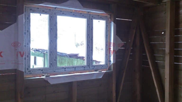 Окна в каркасные