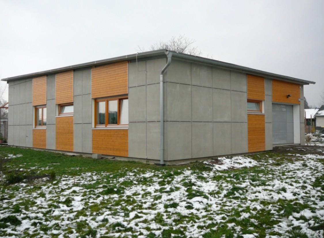 Фасад из ЦСП