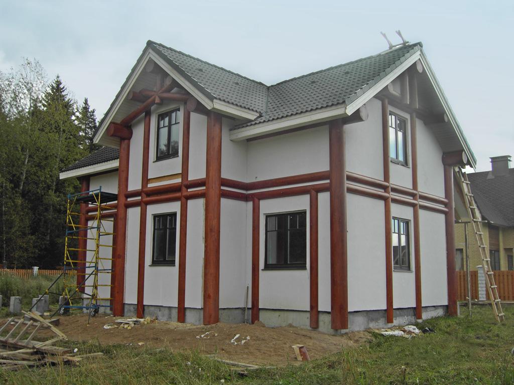 Фасад фахверк