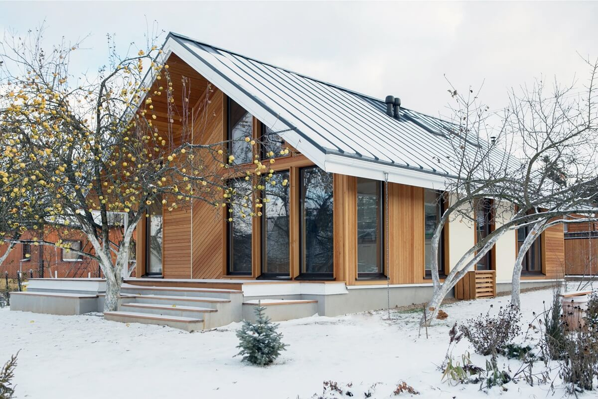 каркасные дома архитектура фото русских земель