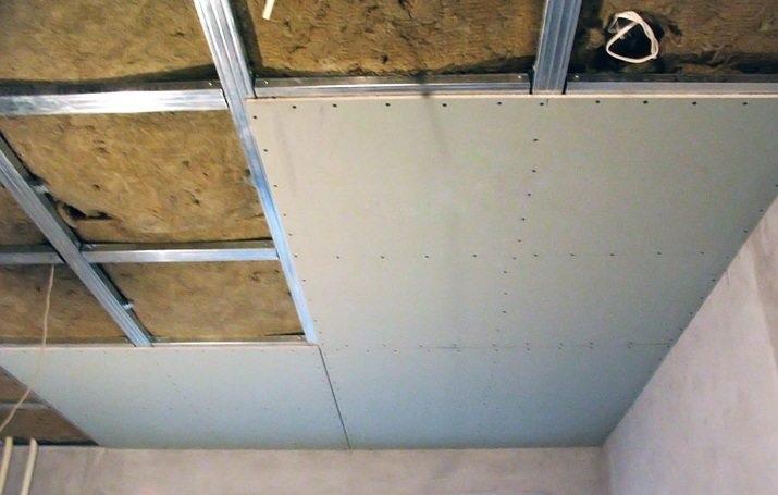 Крепление фанеры на потолок