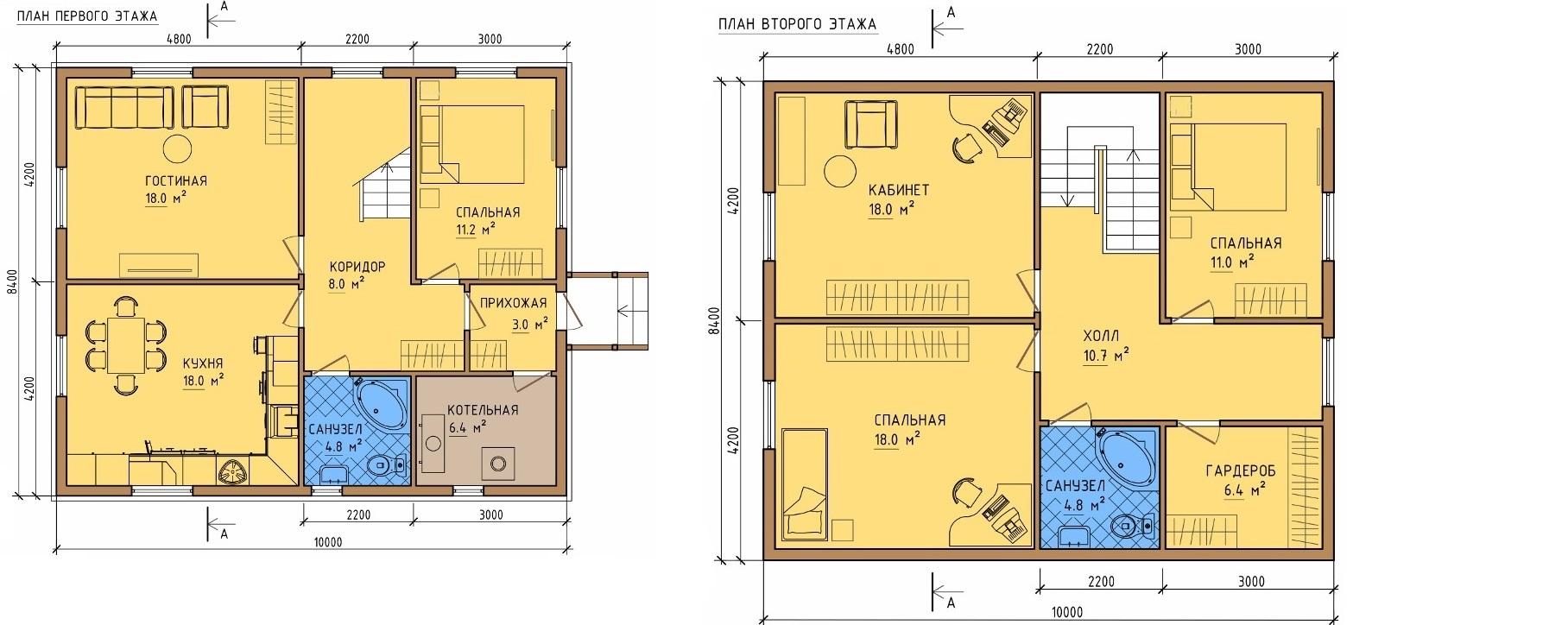 Дом 8 на 10