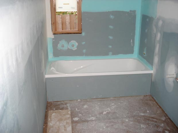 Отделка ванной комнаты гипсокартоном