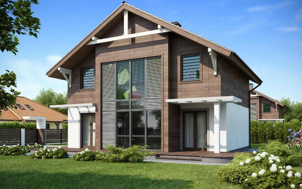 Проекты каркасных двухэтажных домов