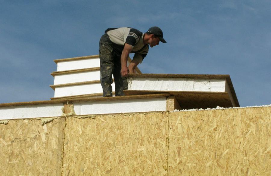 Канадская технология возведения каркасных домов