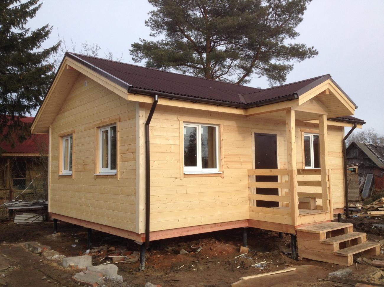 Строительство каркасного дома 6х8 своими руками