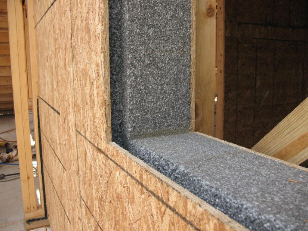 Звукоизоляция дома из СИП