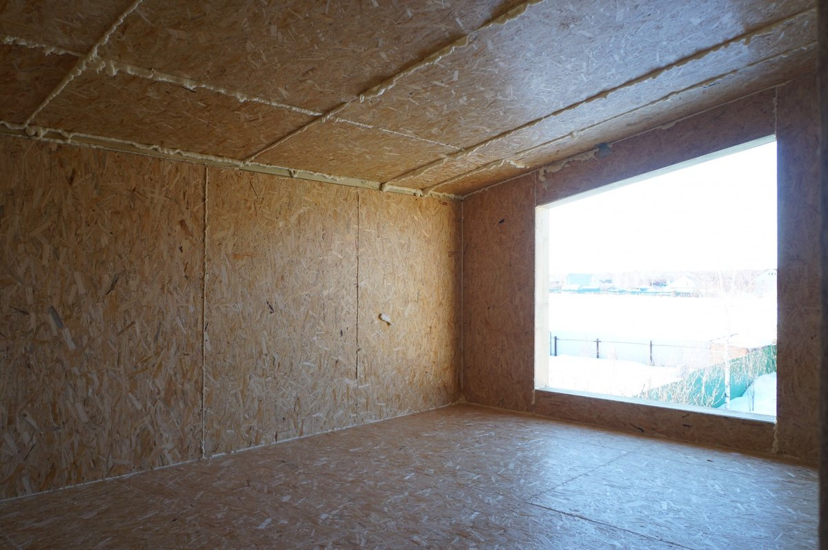 Варианты внутренней отделки дома из СИП панелей