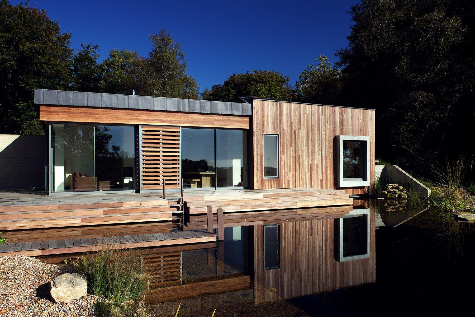 Пример дома в стиле хай тек