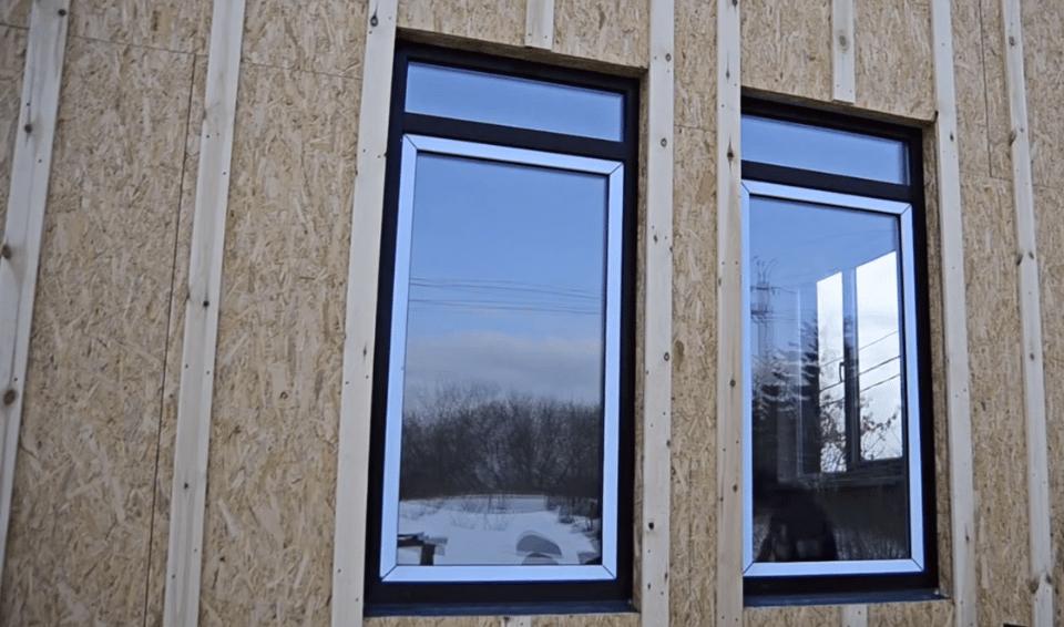 Окна снаружи