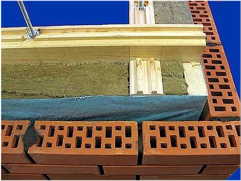 Облицовка кирпичом стен каркасного дома