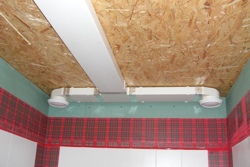 Вентиляция для ванной в каркасном доме