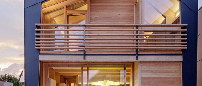 Модульный двухэтажный дом