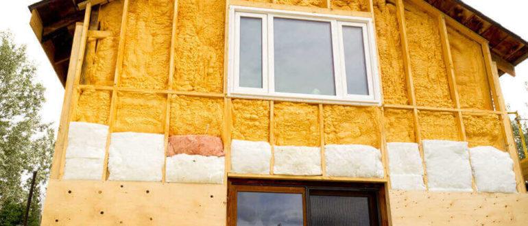 Утепление щитового дома