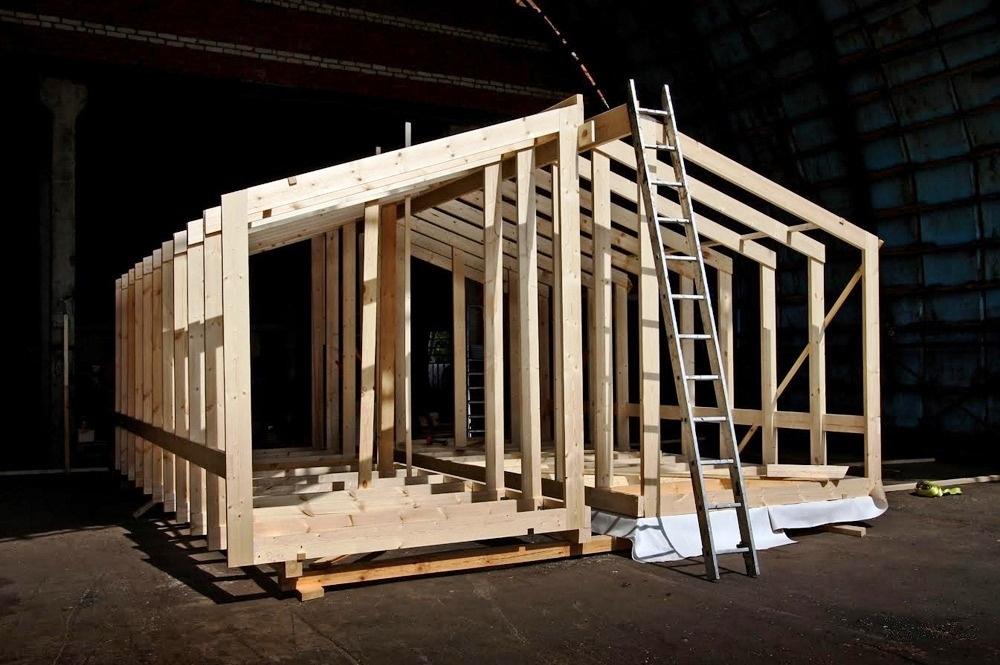 Основа модульного дома