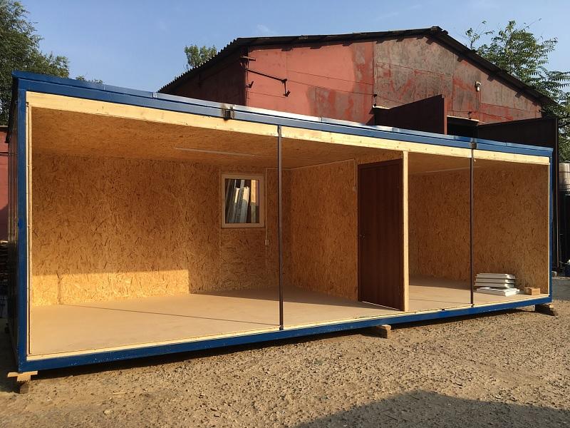 Модульный дом изнутри