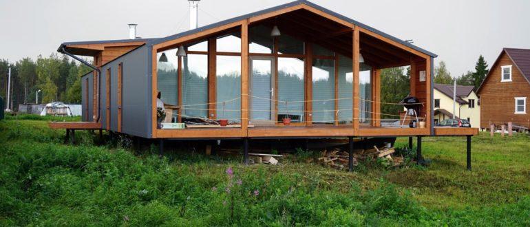 Готовый дом из модулей