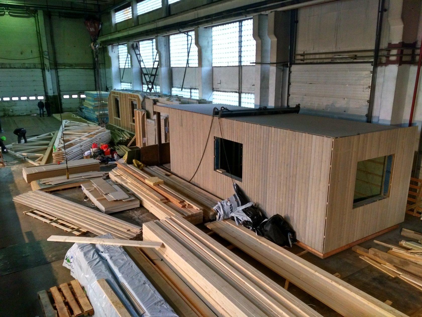 Изготовление жилых модульных домов