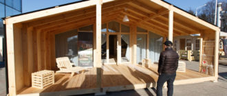 Модульный дом на выставке