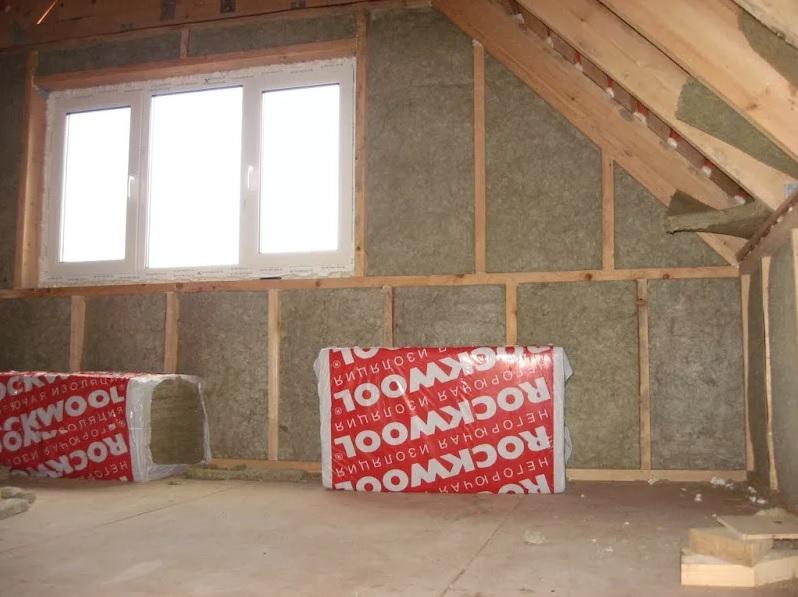 Использование утеплителя Rockwool в каркасном доме