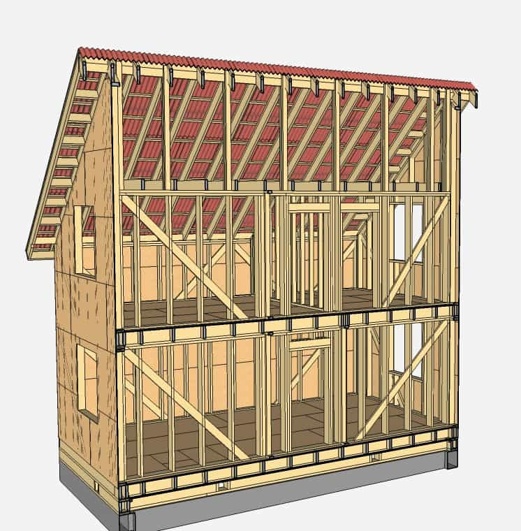 Строение дома