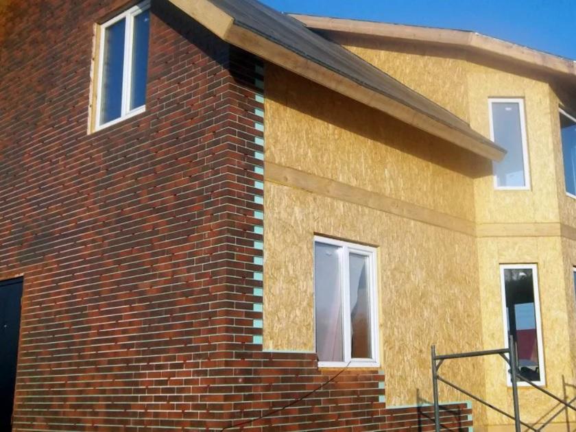 Финишная отделка фасада
