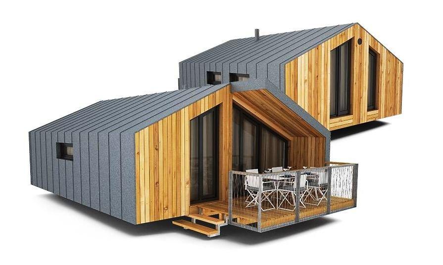 Вариант модульного дома